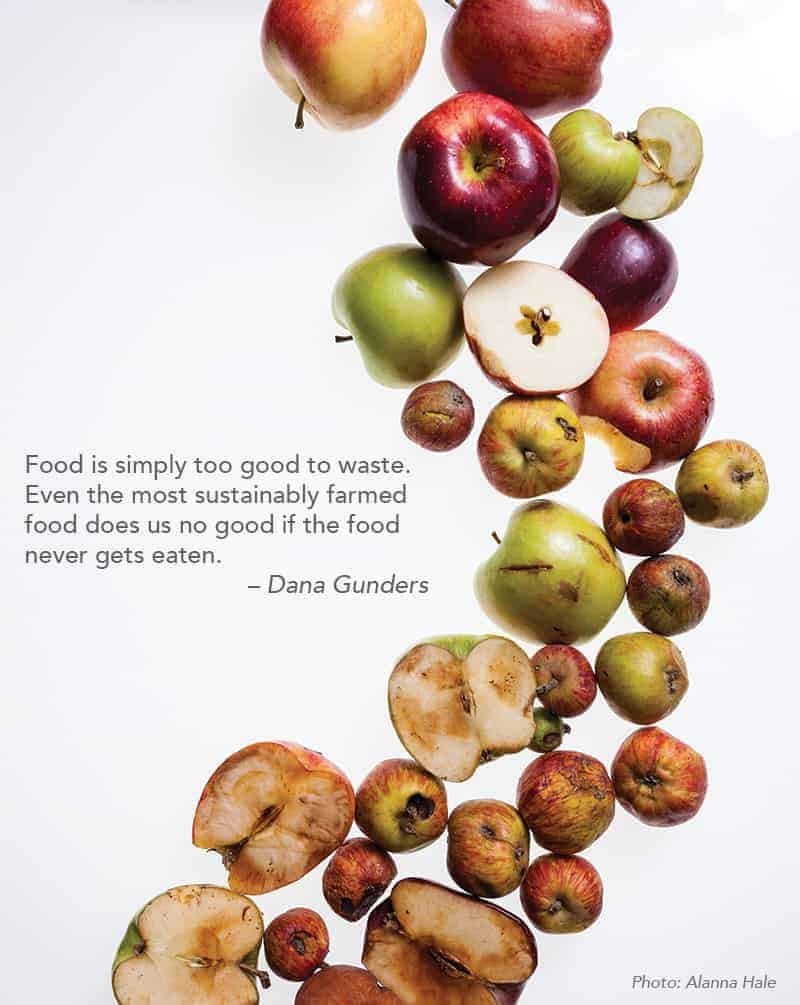 dana gunders apples