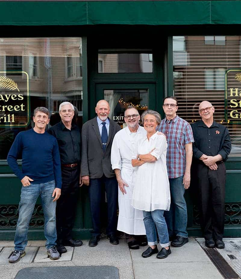 hayes street grill staff