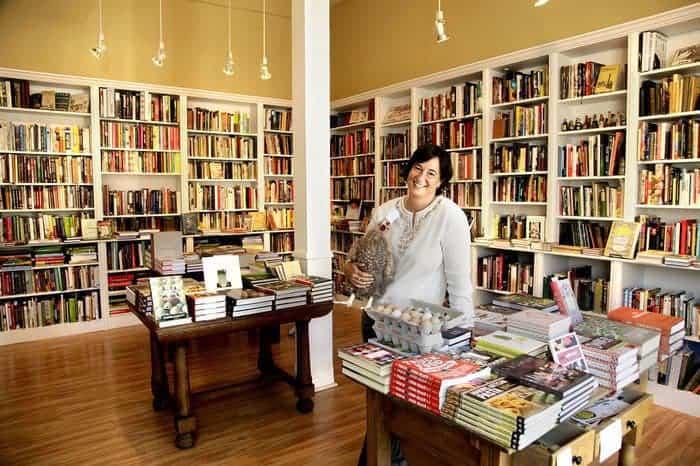 omnivore books proprietor Celia Sack