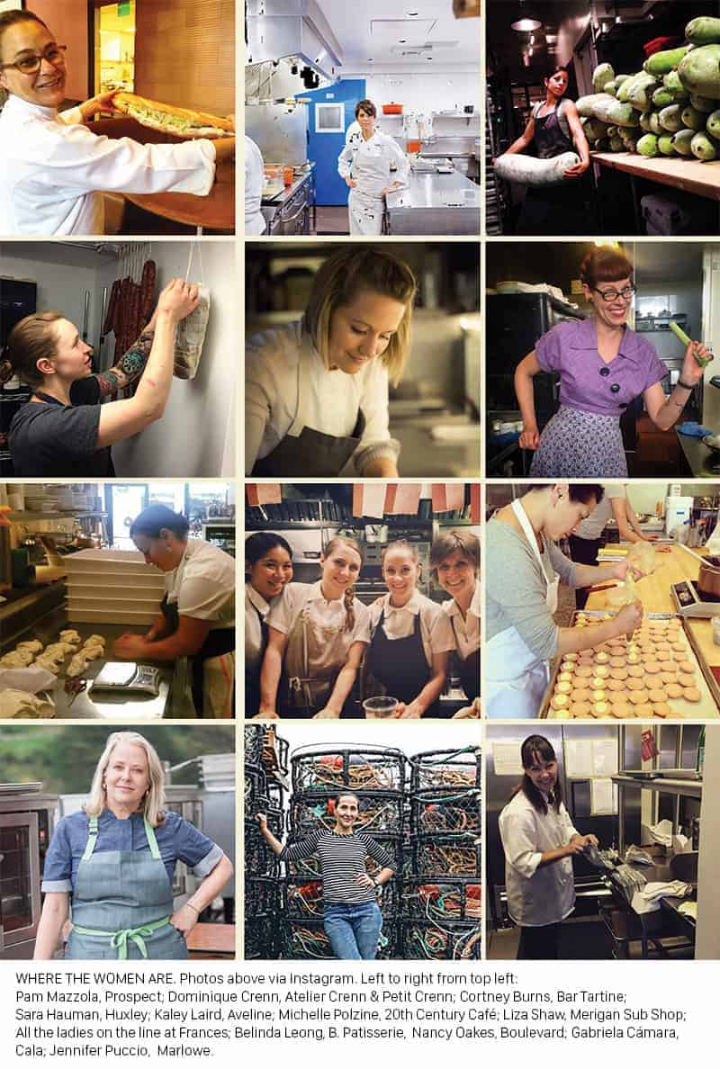 women chefs of san francisco