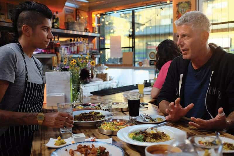 anthony bourdain and preeti mistry