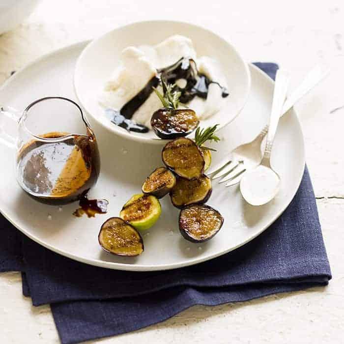 grilled fig sundae