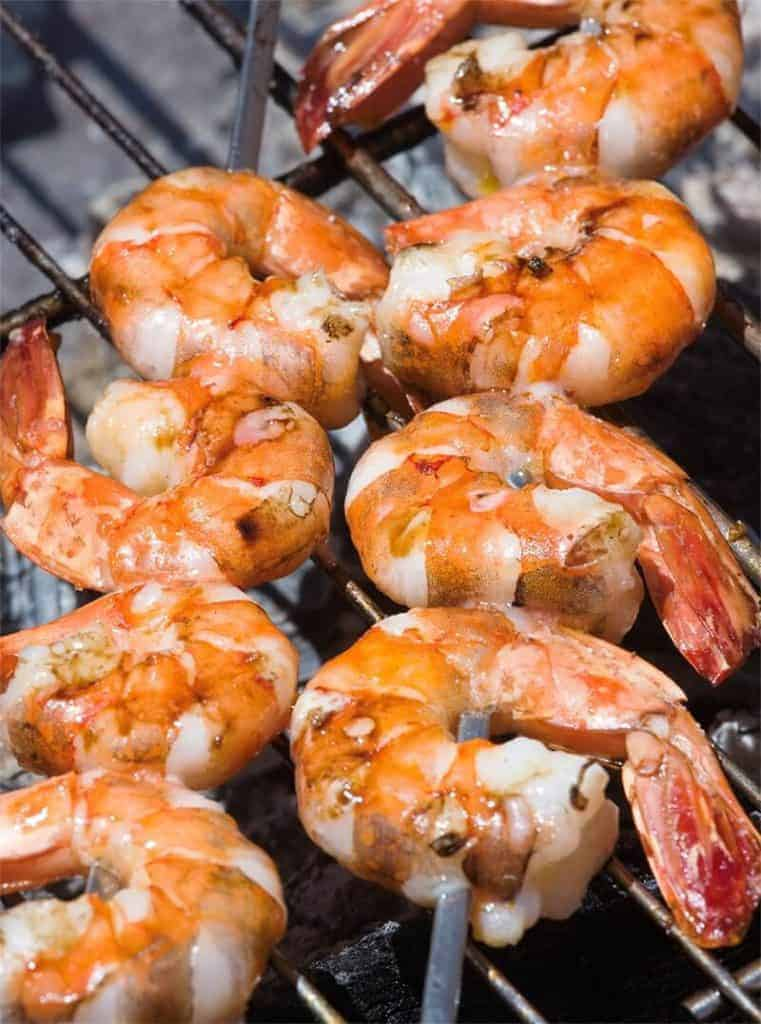 Cooking with San Francisco Cooking School: Shrimp on the Barbie