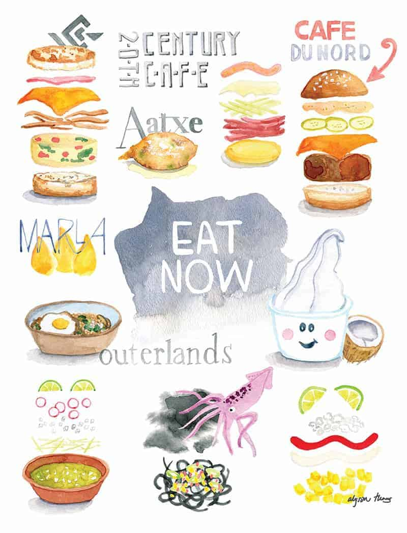 10 things to eat now summer 2015