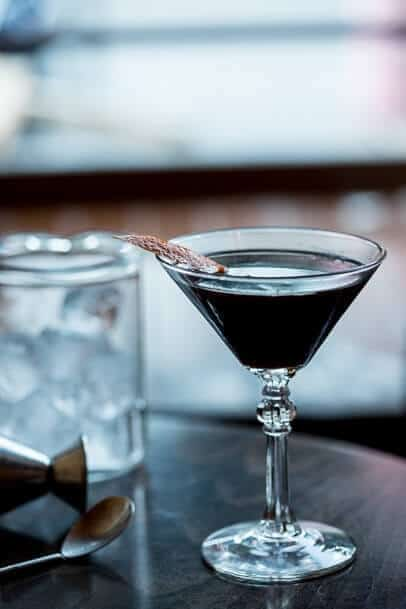 dark knight cocktail from two sisters