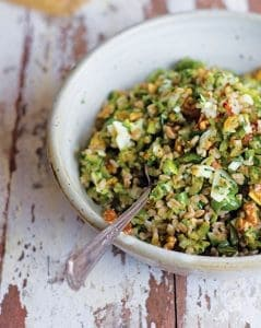 farro salad by heidi swanson