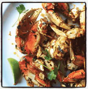 Oven-Roasted Dungeness Crab With a Kick