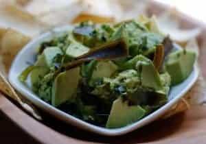 sesame seaweed guacamole