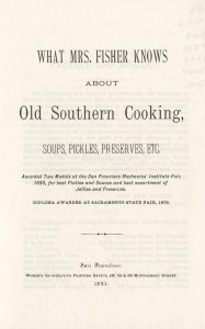 page from what mrs fisher knows about cooking