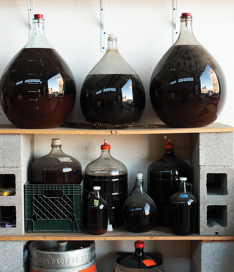 homemade-fruit-wine-jugs