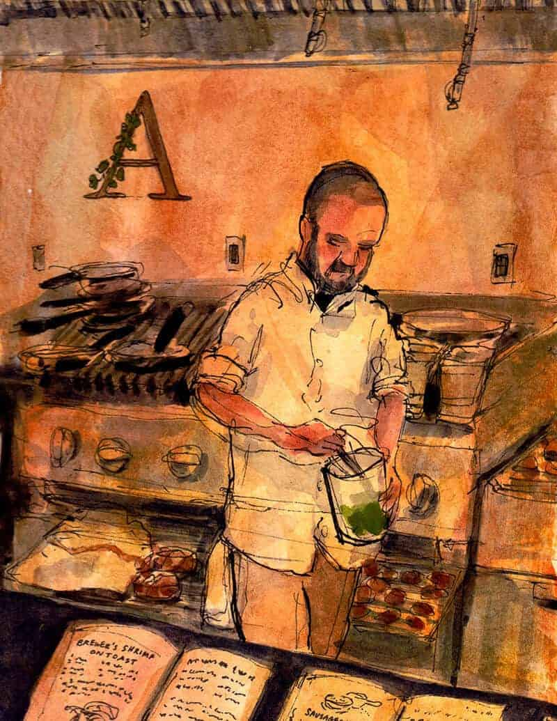 chef at abbot's cellar