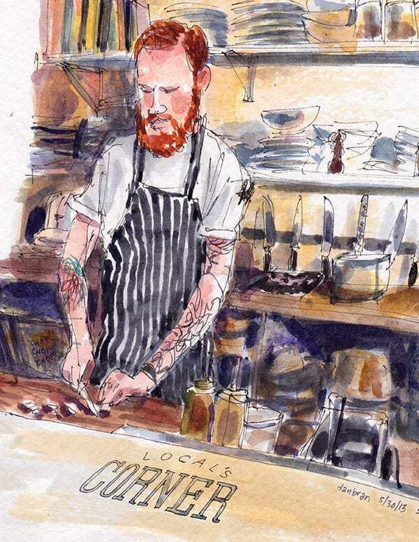 chef at local's corner