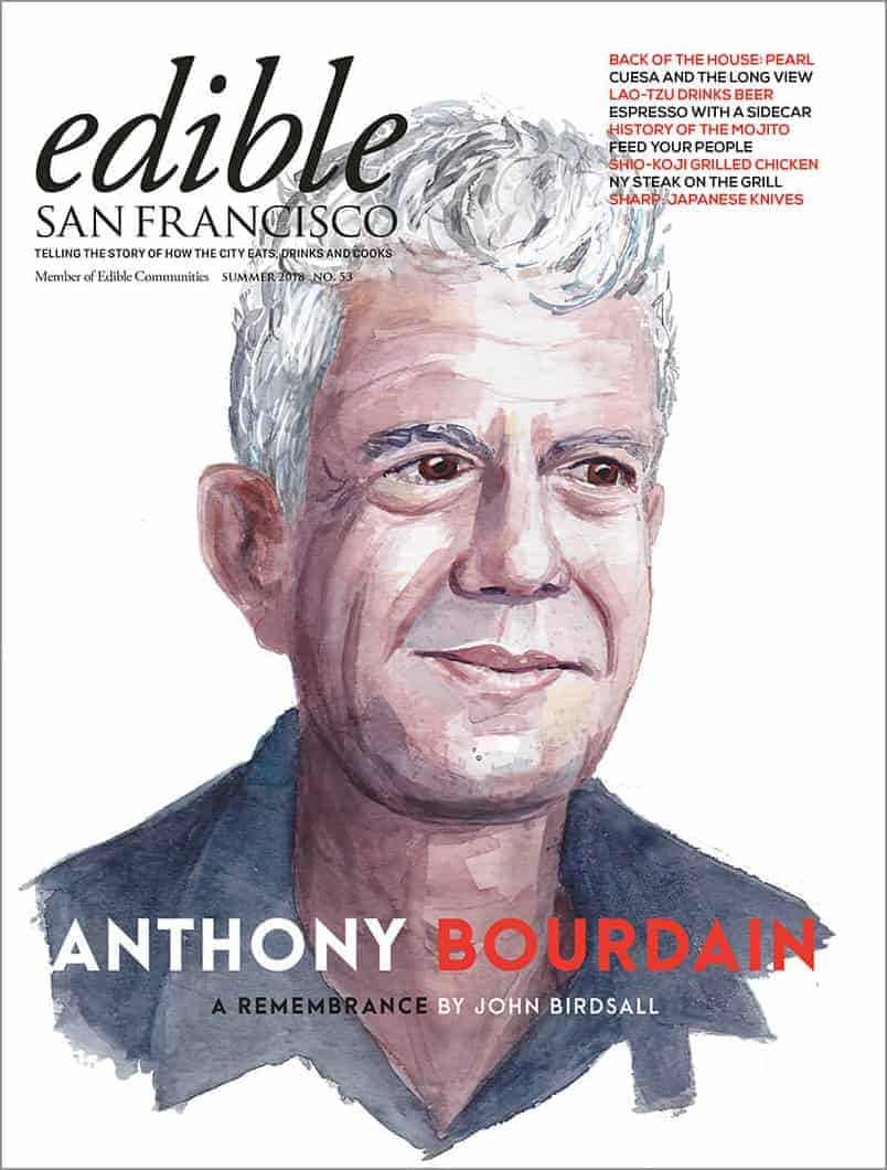 ediblesf cover summer 2018 anthony bourdain