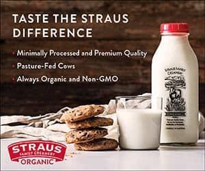 straus organic sponsored