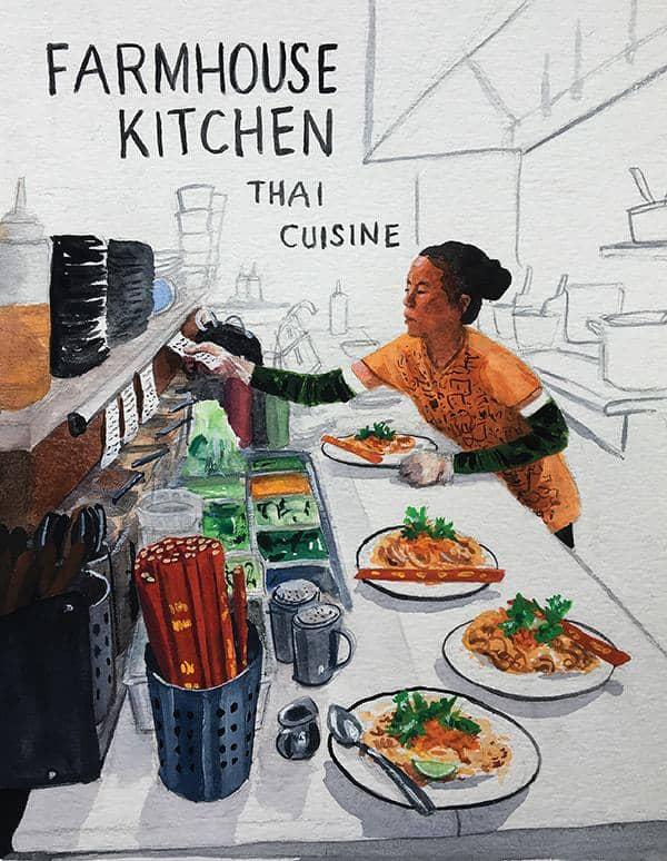Back Of The House Farmhouse Kitchen Thai Cuisine Edible