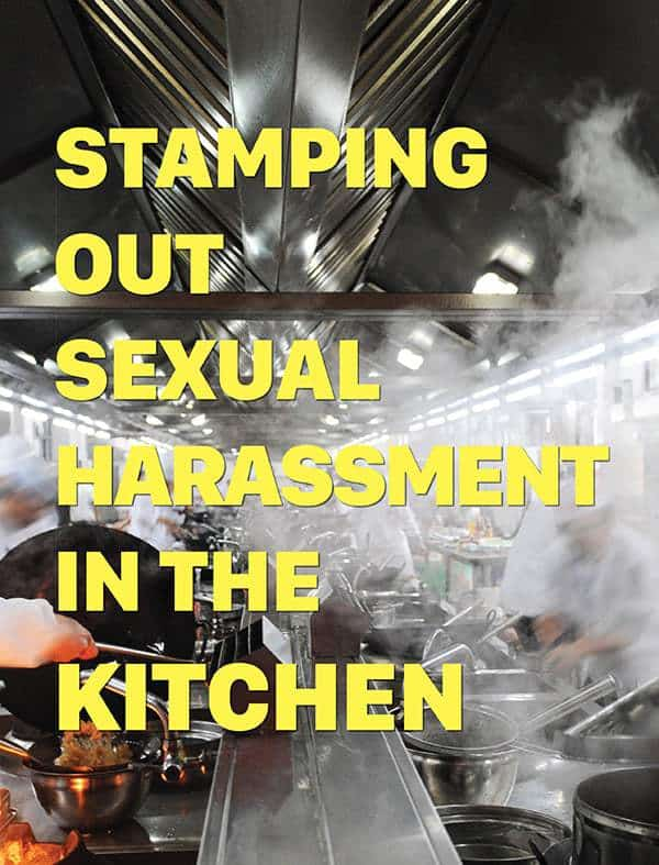 stamping out sexual harassment