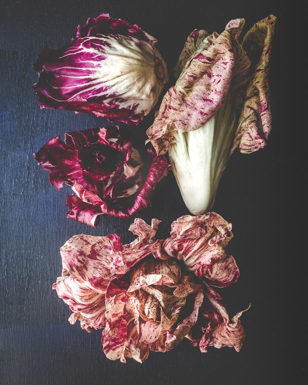 radicchio on a table