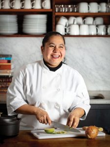 violeta sandoval teaches for cooking matters