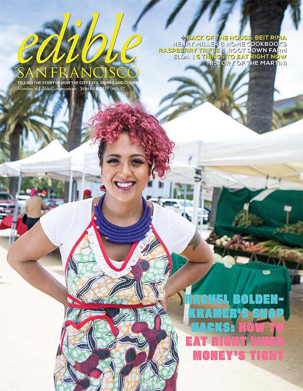 Edible SF summer 2019 cover