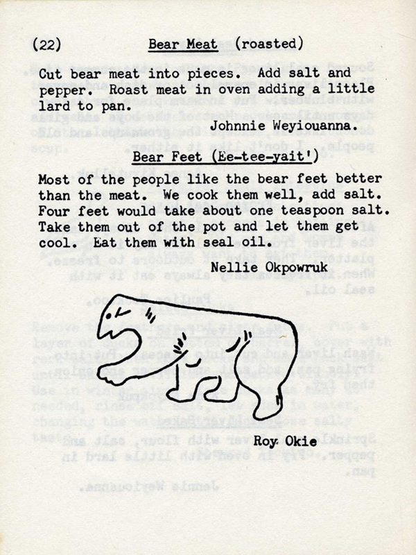 recipe for bear paws