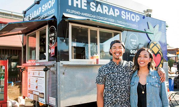 sarap shop food truck