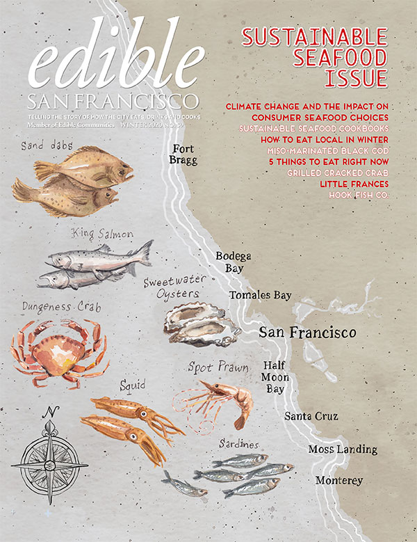 Edible SF Winter 2020 cover