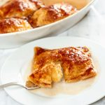 bartlett pears in puff pastry