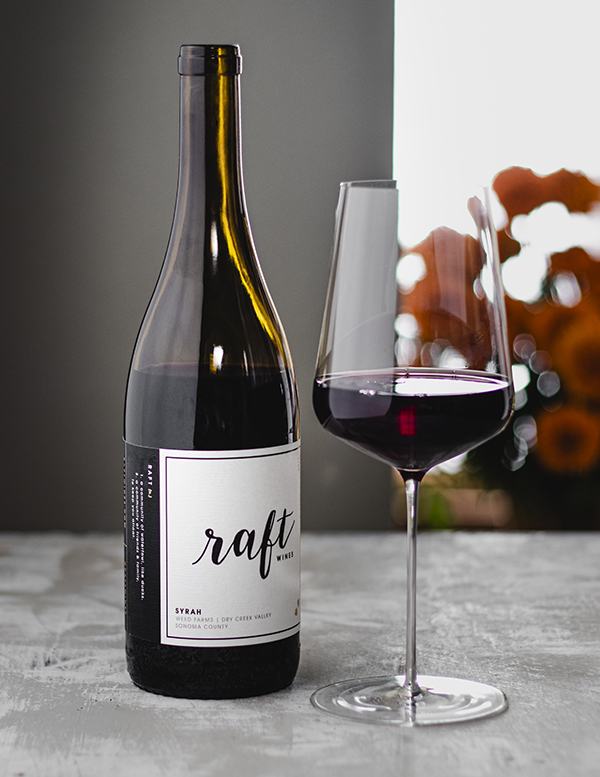 raft wines syrah weed farms