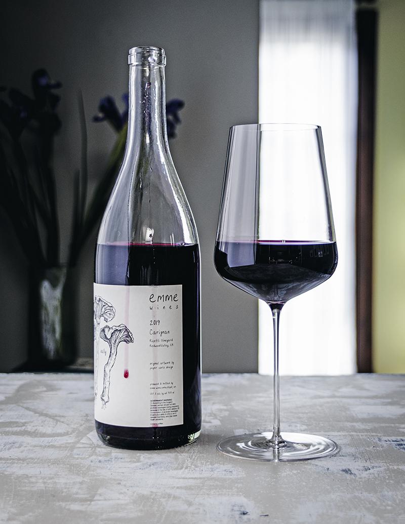 "2019 Emme Wines ""Sally"" Carignan, Ricetti Vineyards, Redwood Valley, Mendocino"