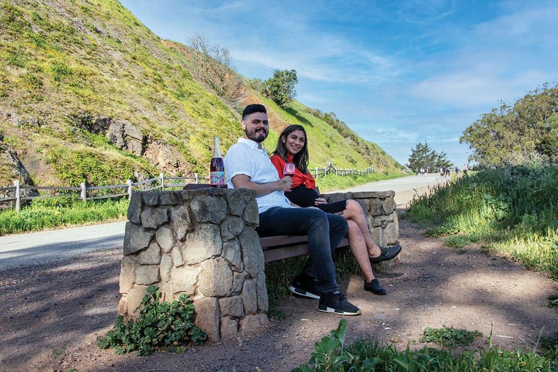 Brendon Pineda and Ariana Olivares