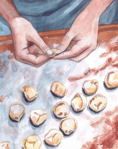 handmade tortellini