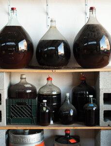 homemade fruit wine